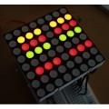 红绿双色LED点阵,共阳