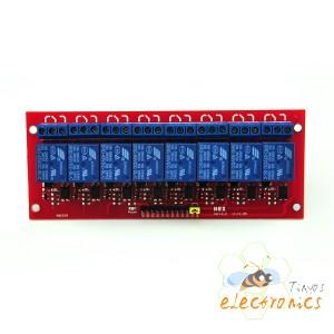 5V 8通道继电器
