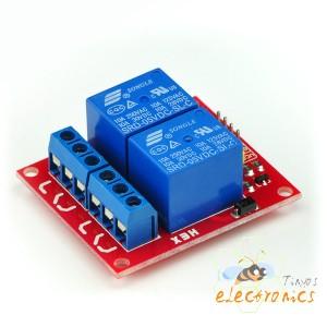 5V 2通道继电器