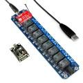 8通道无线继电器模块套装-WIFI