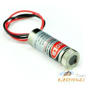 红色5mW激光模块 直线型