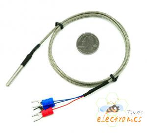 5PCS PT100温度传感器