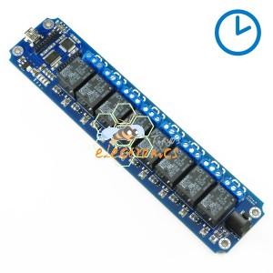 8通道 USB/无线 定时继电器