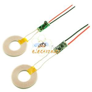 无线充电模块 发射模块输入12V /接收模块输出 12V 1.5A
