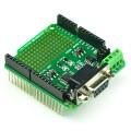 RS232/485 shield 绿色板卡