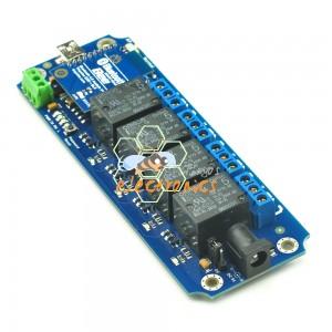 4通道带密码无线继电器模块蓝牙套装-TOSR141 Bluetooth