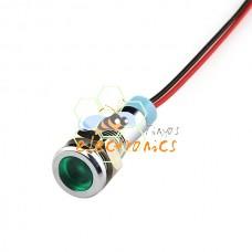 6MM金属指示灯信号LED电源灯车载灯