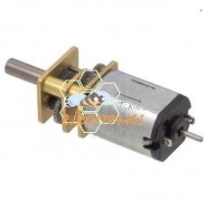 双出轴微型减速电机 金属齿轮 6V30000rpm 1.6A 1比100